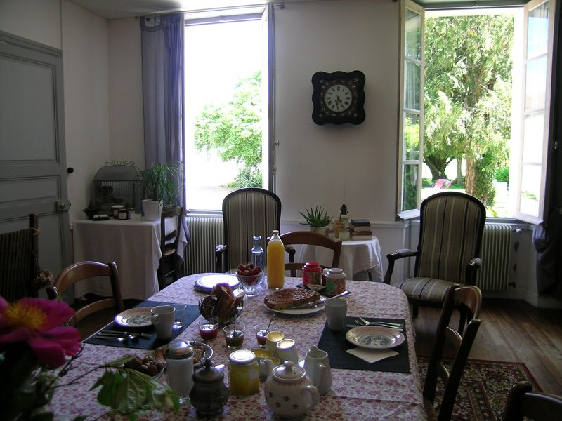 Petit-déjeuner salon