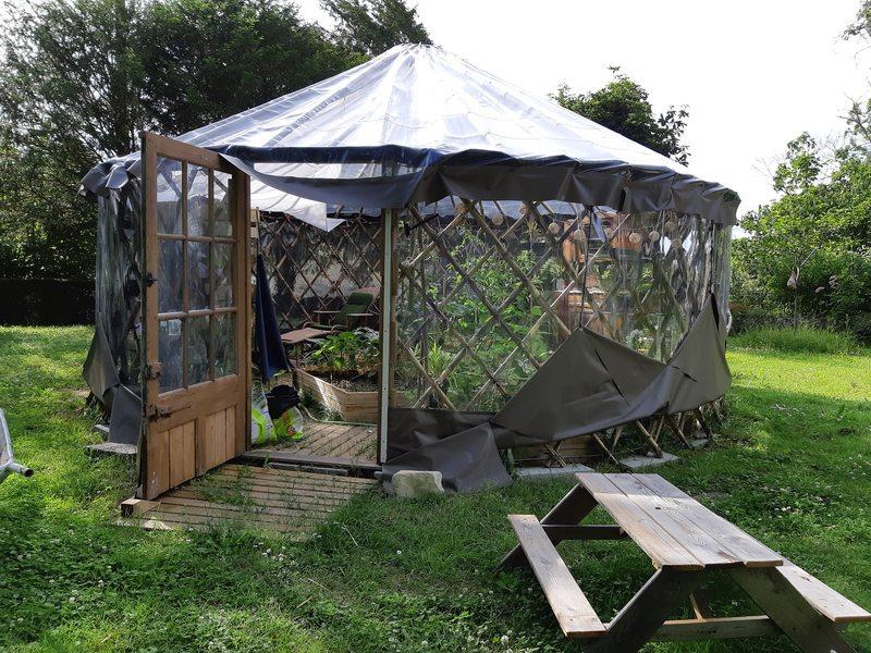 Yourte jardin