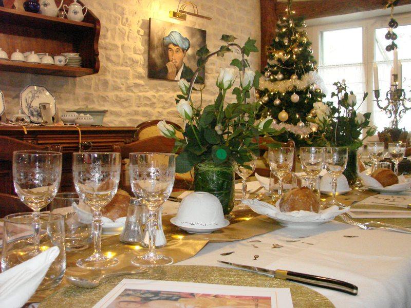 Table dhôtes Noël