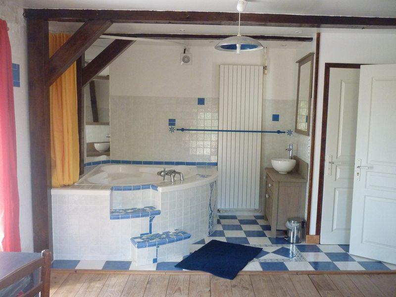 Chambre Geysir salle de bain