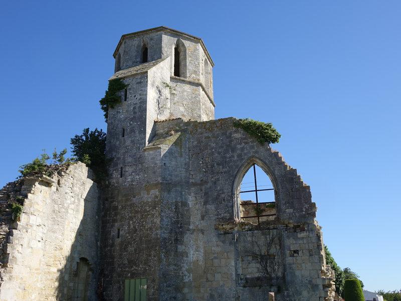 Ruines de léglise Saint Etienne