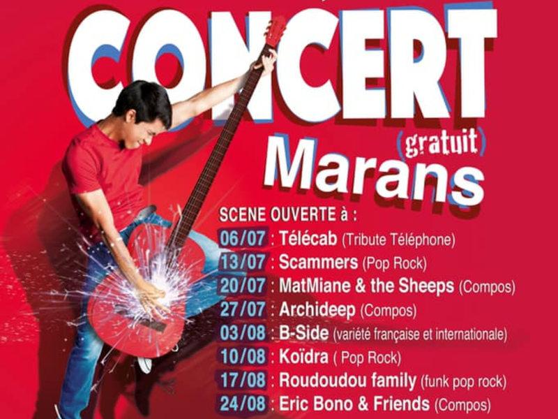 Concerts gratuits du mardi